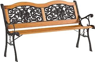 AmazonBasics Patio Park Garden Bench