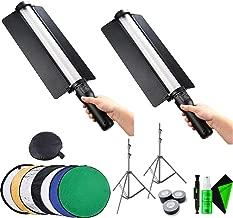 (2) Godox LED Light Stick LC500 + (2) Godox 260T Air-Cushioned Light Stand