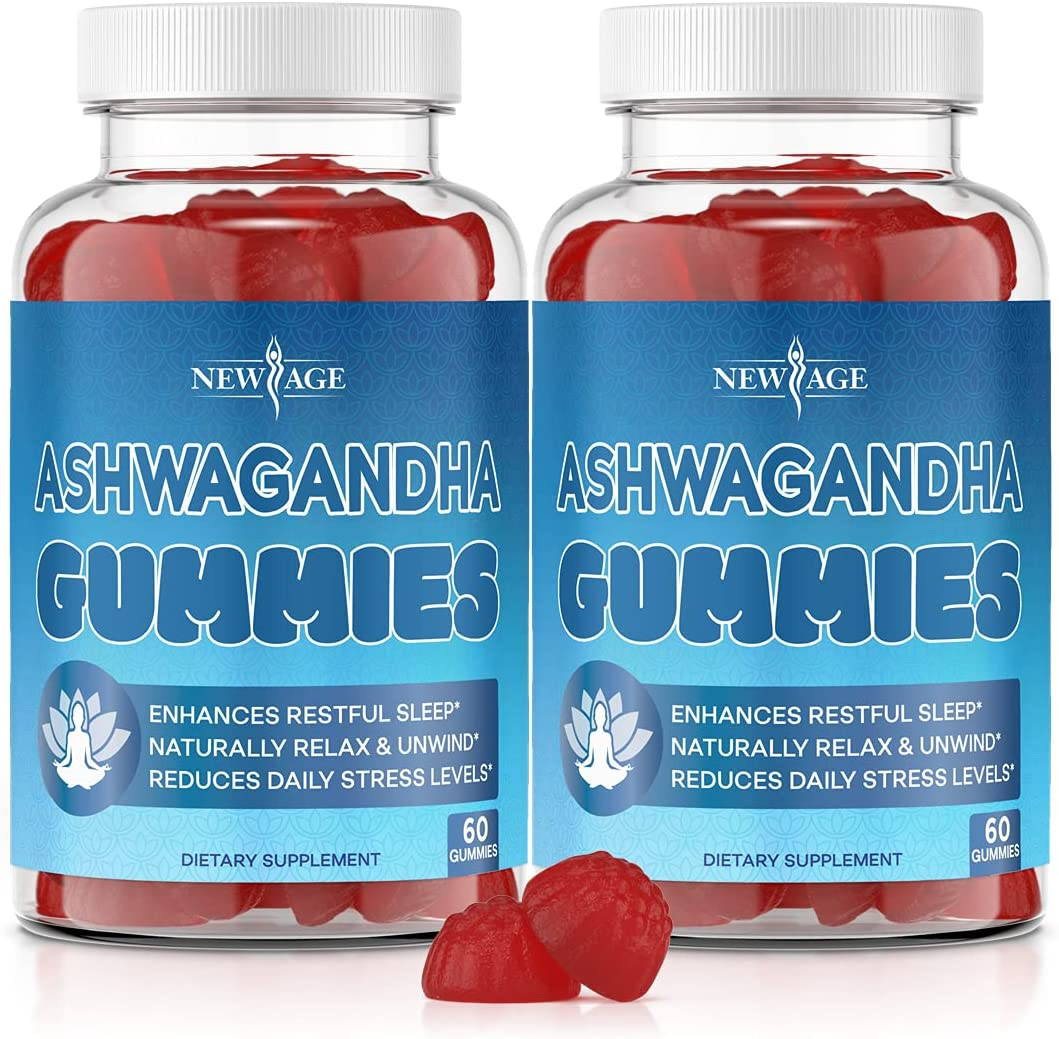 Ashwagandha Gummies Sale by NEW AGE - with Relief Rest Stress Cheap mail order shopping Helps