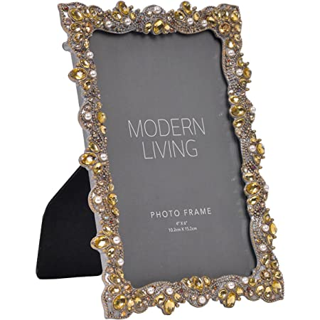 Approx 10 x 12 Frame Vintage Gold Wood Frame with Optional Glass and Custom Cut Matting