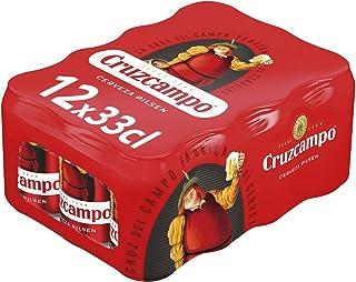 Cruzcampo Cerveza - Pack de 12 Latas x 330 ml (Total: 3.96 L