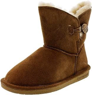 BEARPAW Women's Rosie Winter Boot, Hickory, 8.5