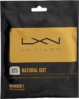 Luxilon Natural Gut Tennis String Natural ()
