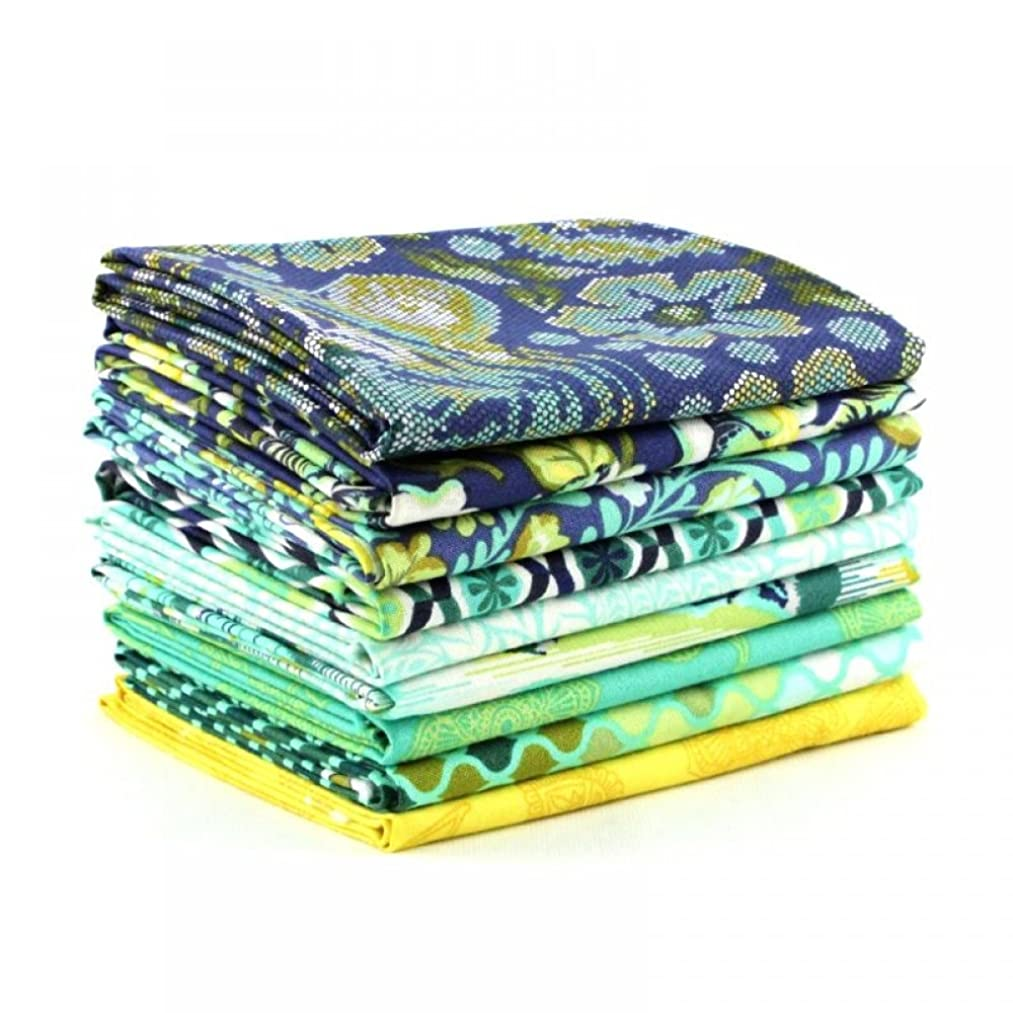 Eden Sapphire Half Yard Bundle (TP.ED.SA.9HY) by Tula Pink for Freespirit