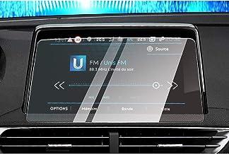 CDEFG para Peugeot 3008 5008 GT Protector de Pantalla de Vidrio Templado, HD Auto 9H GPS Navi película protegida Glass (8 Inches)