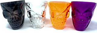 40 Bulk Halloween Skull Party Favor Shot Glasses or Dessert Cups - ideal for kids of all ages