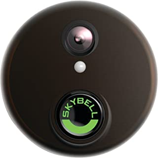SkyBell SH02300BZ HD WiFi Video Doorbell, Bronze
