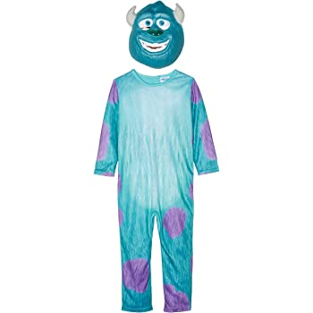 Rubies 880078 - Traje adulto Monster Inc Sulley, Multicolor, S (3 ...