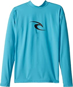Rip Curl Kids Corpo Long Sleeve UV Tee (Big Kids)