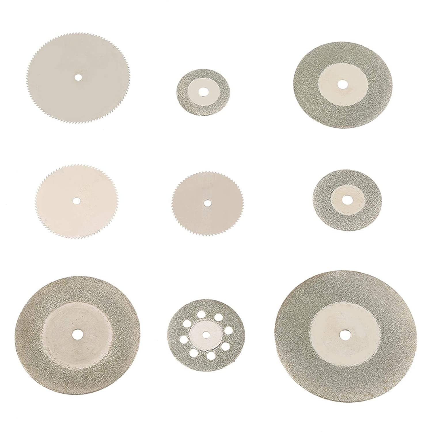 37Pcs Diamond Daily bargain sale Stainless Steel Same day shipping Cutting and Disc Blades Mandre Saw