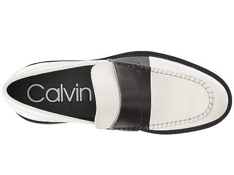 Box Rock Box Calvin Leather Klein Florentino BlackRed LeatherWhite YqBAg