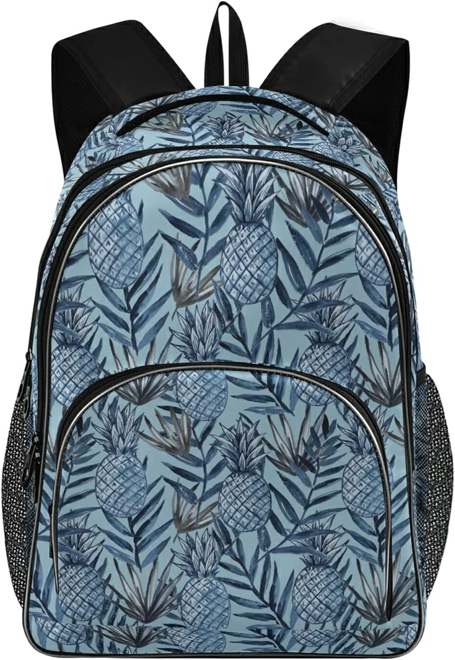 ALAZA Retro Pineapples and Tropical Max 61% OFF Lapt Leaves National products Daypack Backpack