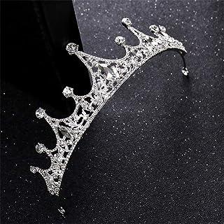 FELICILII Strass Corona Sposa Copricapo Matrimonio Festa di Compleanno Principessa Corona Accessori Sposa Anniversario di ...