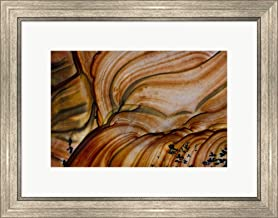 Deschutes Jasper from Oregon by Darrell Gulin/Danita Delimont Framed Art Print Wall Picture, Silver Scoop Frame, 23 x 18 inches