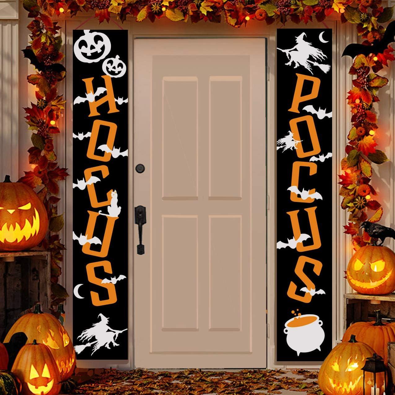 "JOYIN Halloween Hocus Pocus Banner Sign Porch Today's only Hanging D Finally popular brand 72"""