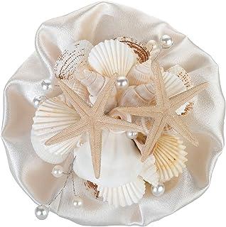 "Lillian Rose 6"" Coastal Seashell Bouquet"