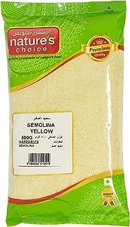 Natures Choice Yellow Semolina - 500 gm