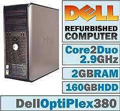 Dell OptiPlex MT/Core 2 Duo E7500 @ 2.93 GHz/New 2GB Ram/160GB HDD/DVD-RW/WINDOWS 7 PRO 64 BIT - (Certified Reconditioned)