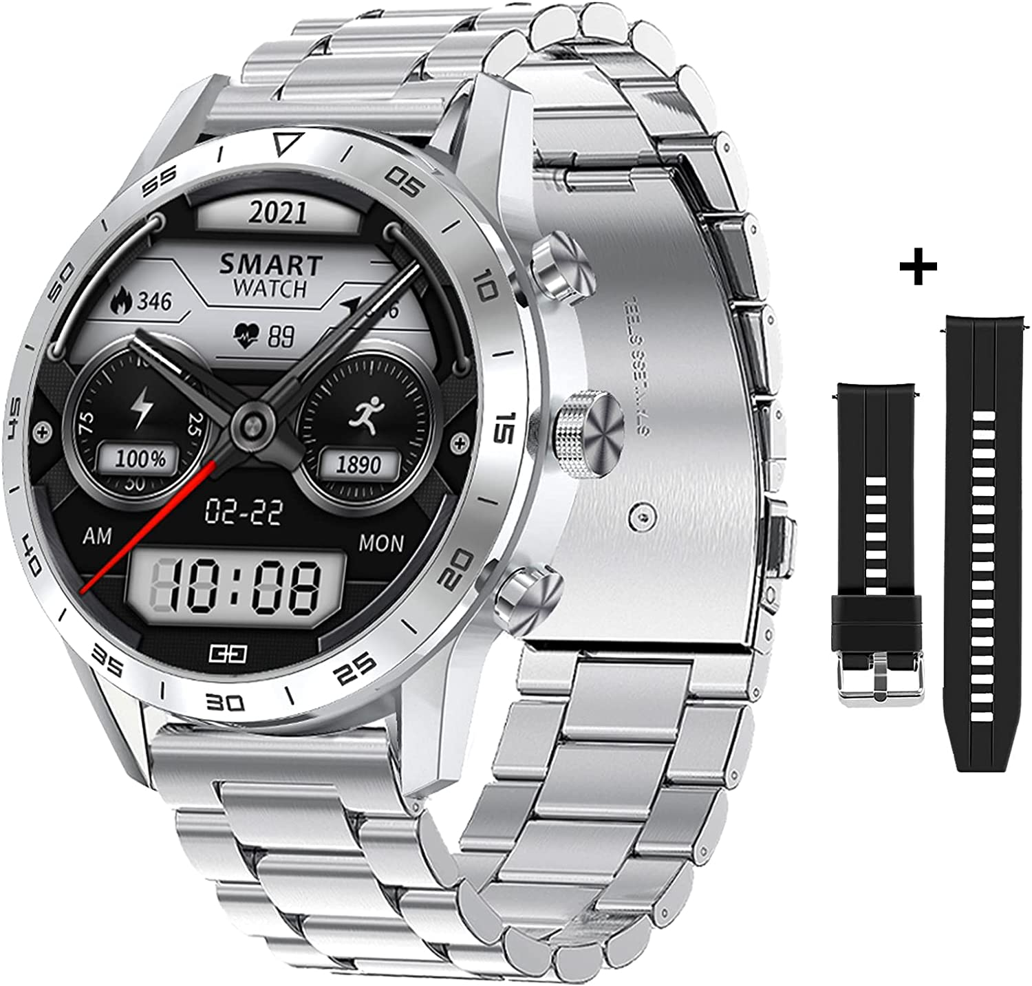 Zodvboz low-pricing Men's Limited Special Price Smart Watch Wireless Charging Voice Bluetooth Call