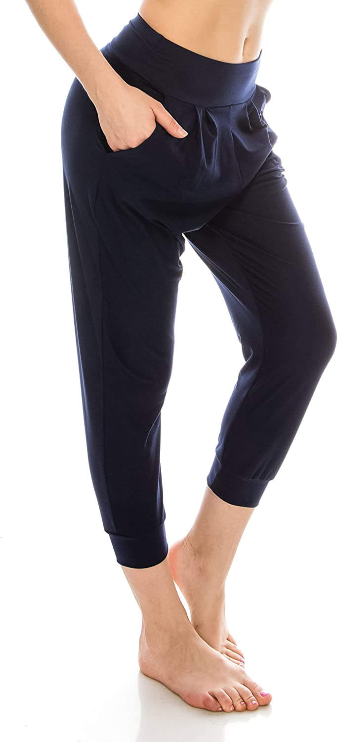 EttelLut Loose Fit New York Mall Harem Max 41% OFF Jogger Exercise with Yoga Pants-Casual