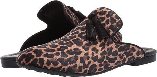 Light Brown Leopard Fabric
