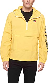 Tommy Hilfiger Men's Retro Lightweight Taslan Popover Jacket