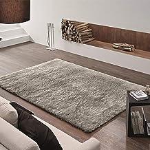 Tapete Felpudo Apolo Soft Casa Dona 100x150cm Cinza
