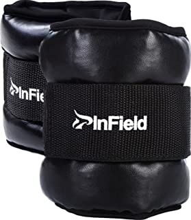 小さくてコンパクト インフィールド足首重量手首重量筋力トレーニングウォーキング..