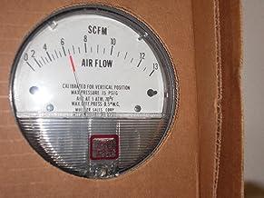 "Dwyer® Magnehelic® Differential Pressure Gage, 2000-0AV Range: 0-0.5"" w.c., 500-2800 FPM pc"