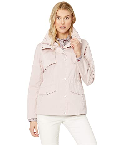 Cole Haan Travel Packable Zip Front Jacket with Front Placket and Snaps (Canyon Rose) Women