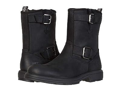 UGG Biltmore Moto Boot (Black) Men