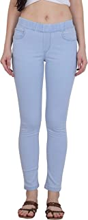Forth Women's Stretchable Denim Jeggings