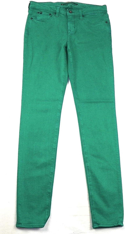 Big Star 1974 Women's Alex Skinny Stretch Wash Green Jeans 26 Regular