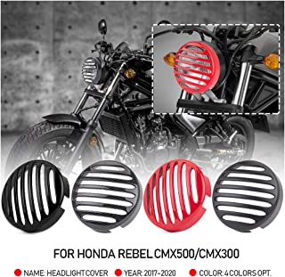 Motorcycle CMX500 CMX300 Headlight Cover Front Light Lamp Grill Guard Protector for 2017 2018 2019 2020 Honda Rebel CMX 50...