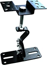 SPS-506B Speaker Mounts, Horizontal 360 Degree Total Adjustment, Hold up to 100lbs, Stainless Steel, Ceiling and Wall Moun...