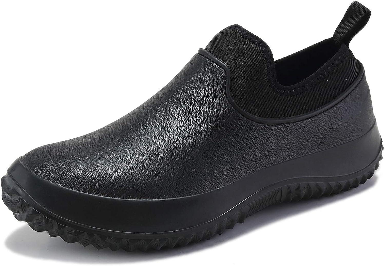TENGTA Men's Waterproof Limited time sale Gardening Ranking TOP3 Rain for Lightweig Shoes Women