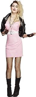 Smiffys Fever 80s Rocker Diva Costume