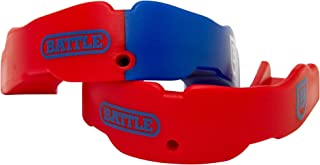 Battle Sports 2 Color Adult Mouthguard (2-Pack),  Red/Royal