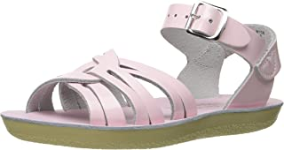 Salt Water Sandals by Hoy Shoe Girl's Sun-San Strappy Sandal Shiny Pink 11 M US Little Kid