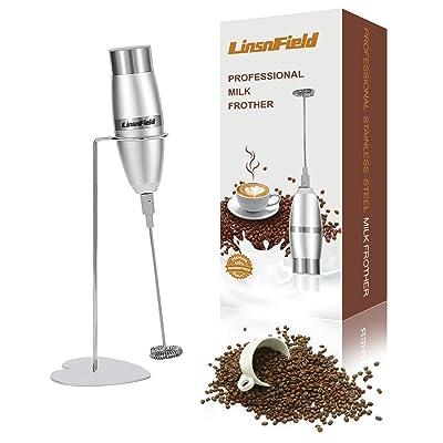 LinsnField Milk Frother Handheld Foam Maker