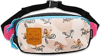 Shotgun Kids MTB Hip Pack - Childs All Weather Bike Riding Bag   Storage for Shotgun Tow Rope Bike Attachment   Fanny Pack...