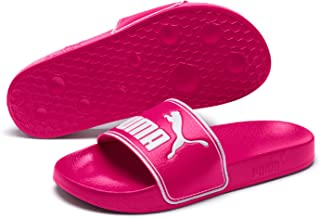 PUMA Women's Leadcat Slide Sandal, Fuchsia Purple
