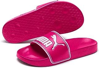 PUMA Women's Leadcat Slide Sandal, Fuchsia Purple