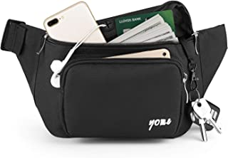 Fanny Pack for Men and Women, Yome Waist Pack Belt Bags with Adjustable Strap
