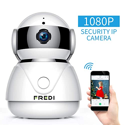 1080p Hd Network Camera Two-way Audio Wireless Network Camera Night Vision Motion Detection Camera Robot Pet Baby Monitor Video Surveillance
