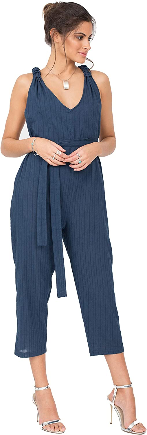 likemary Summer Romper Philadelphia Mall Racer Ranking TOP1 Jumpsuit Cropped Vacation Back