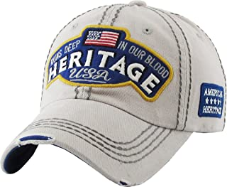 USA Flag Hat Collection Distressed Vintage Baseball Cap Dad Hat Adjustable Unconstructed