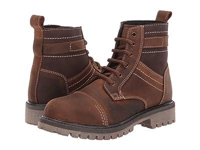 Old West Kids Boots Wyatt (Little Kid/Big Kid) (Brown) Cowboy Boots