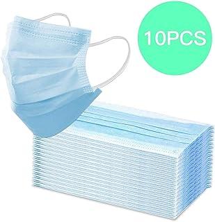 REALPACK 10 protectores quirúrgicos para la cara con bucles