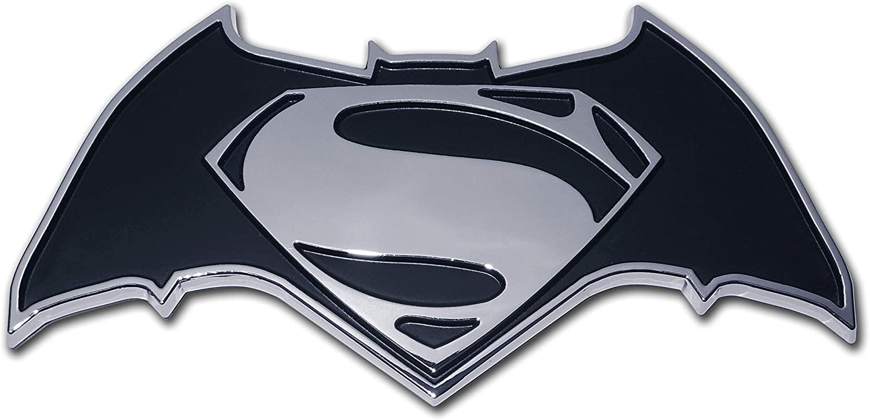 Amazon Com Elektroplate Batman V Superman Dawn Of Justice Chrome Auto Emblem Automotive